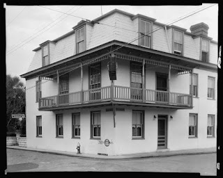 St. Francis Inn circa 1936-1937 3  Graham+House+by+Johnston+Frances+Benjamin+1864 1952+approx+1936 7 St. Francis Inn St. Augustine Bed and Breakfast