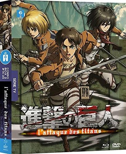 L'Attaque des Titans, France 4, @Anime, Actu Japanime, Japanime,