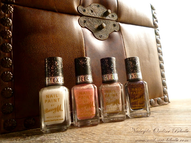 Barry M - Royal Glitter collection - Duchess + Princess