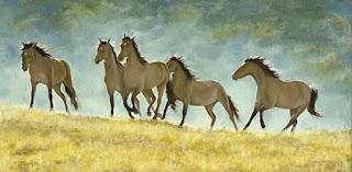 imagenes-de-cuadros-al-oleo-de-caballos-corriendo