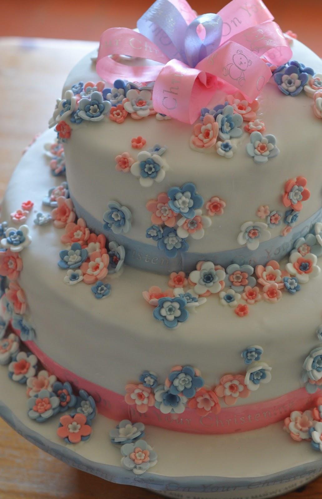 Homemade Cake Images : Stuff I make, bake and love: Homemade Christening Cake