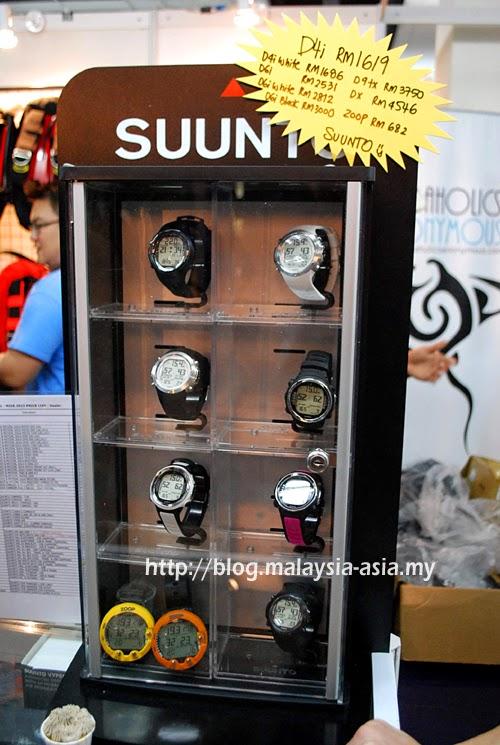 Suunto Dive Computers Malaysia