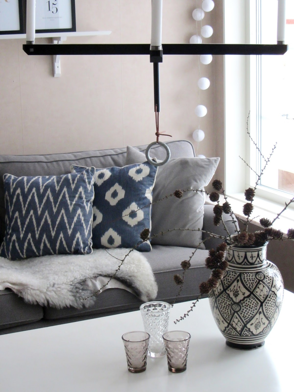 Sofis husdrömmar: Vinterpimpat vardagsrum!