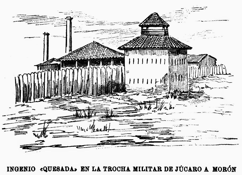 """Ingenio """"Quesada"""" en la trocha militar de Júcaro a Morón"""