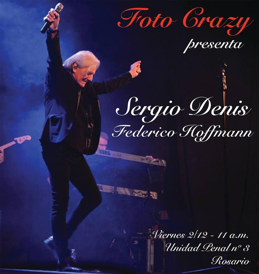 SERGIO DENIS Y FEDERICO HOFFMANN CON FOTO CRAZY