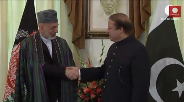 O presidente afegão visita o Paquistão para pedir a libertação de detidos talibãs.
