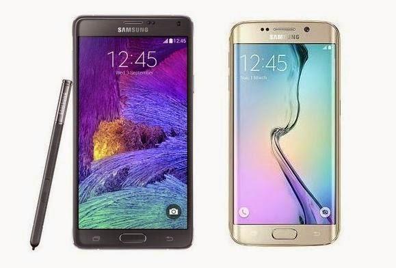 Samsung Galaxy Note 4 vs. Samsung Galaxy S6 Edge