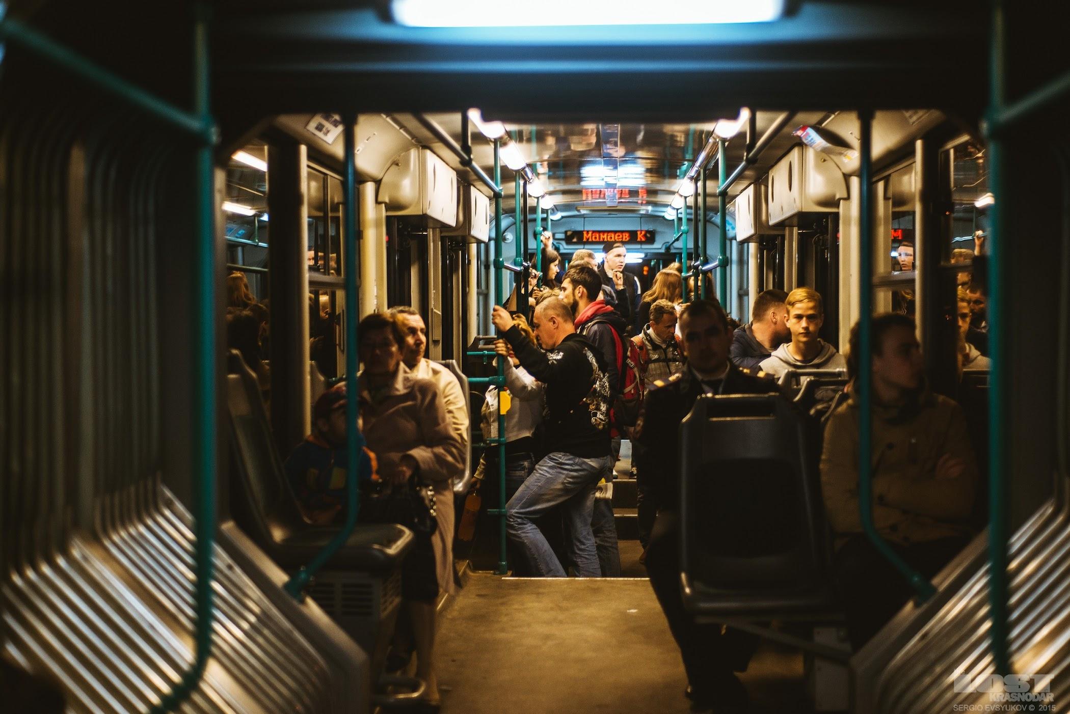 Станция метротрама в Волгограде
