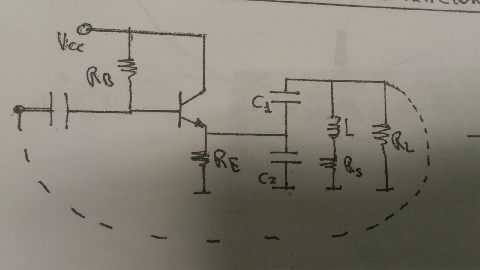 Circuito Oscilador : Diseño oscilador hf radio tecnología