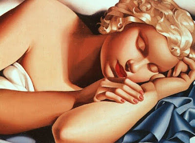 Dona dormint (Tamara de Lempicka)