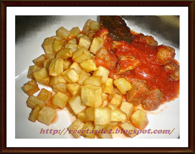 Magro De Carne Con Tomate