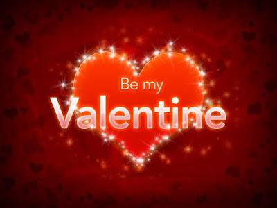 Be my valentines image