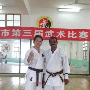 bersama sensei VEERAPPAN ARUMUGAM, 4th DAN, IOGKF Malaysia Chief Instructor