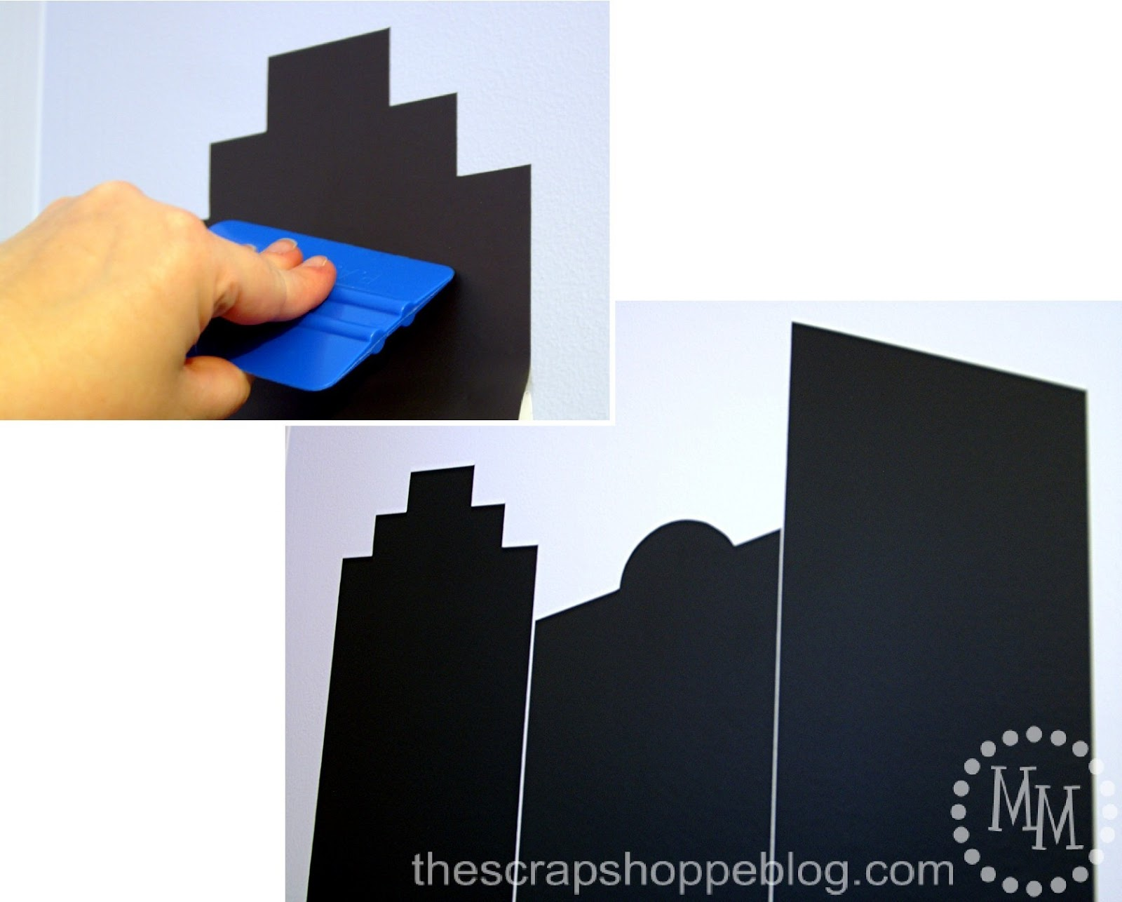 Popular Reach behind the vinyl sheet and grasp the paper backing that you folded up and slowly pull it up the wall smoothing the vinyl against the wall as you go
