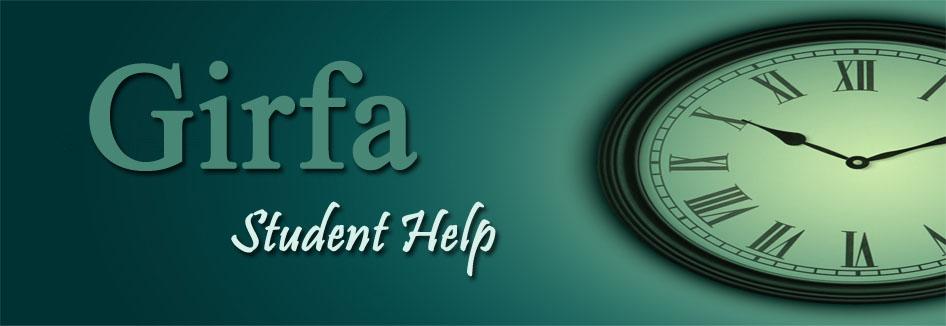 Girfa : Student Help