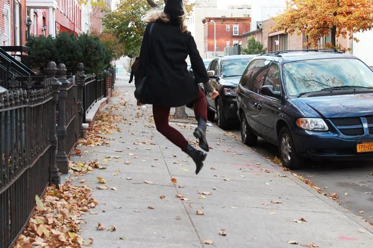 Hip hip hip hurray Alexander Wang Anouck boots Brooklyn fall