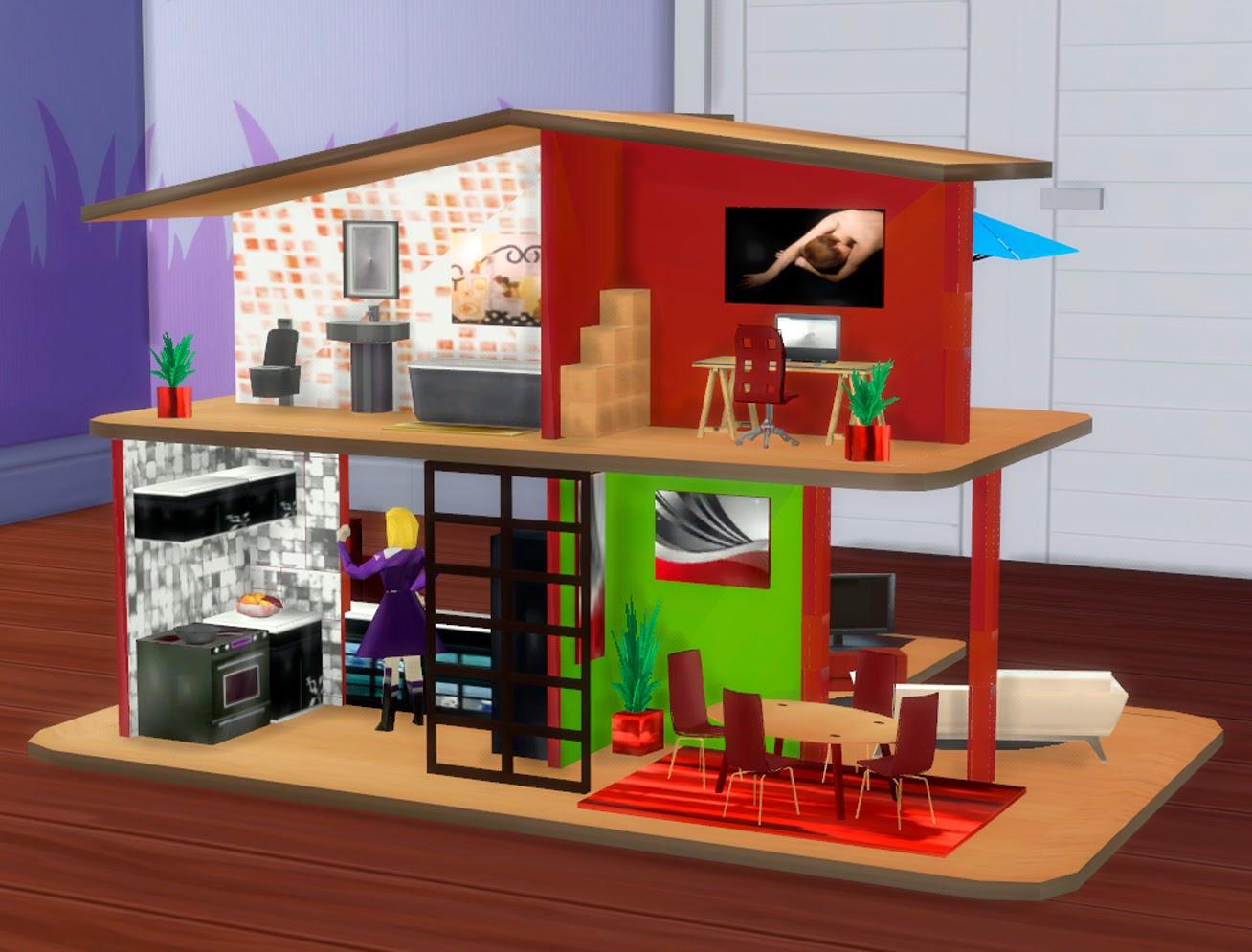 Sims 4 juguetes grandes casa de mu ecas y mr potato - Casa de munecas you and me ...