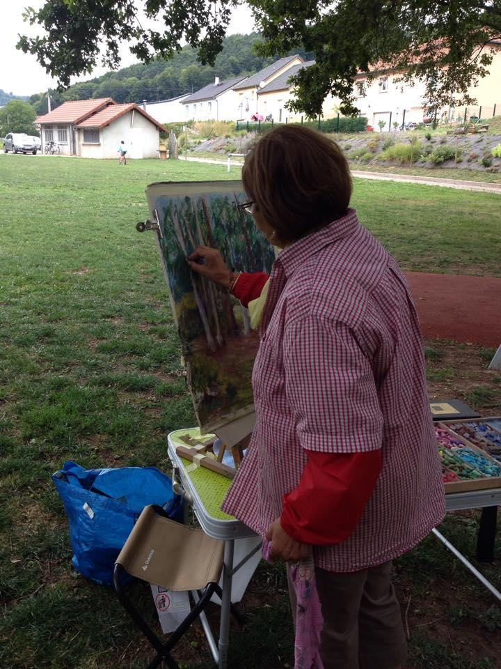 Les actus de guerting artistes au jardin des guertingeois for Artistes de jardin