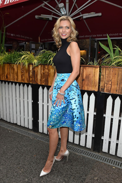 Television presenter, Moderator @ Rachel Riley - The Self Esteem Team book launch party