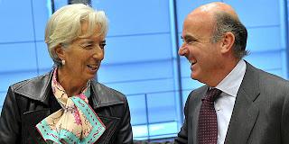Control por parte de los técnicos del FMI de la economía española