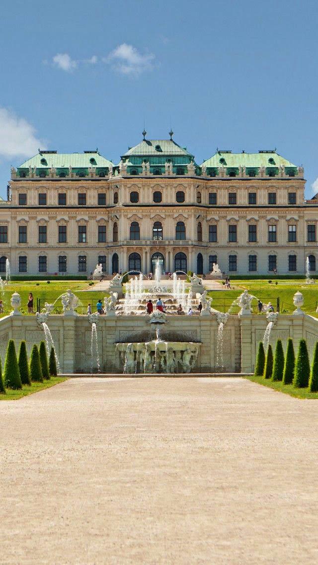 Belvedere Palace-Vienna-Austria