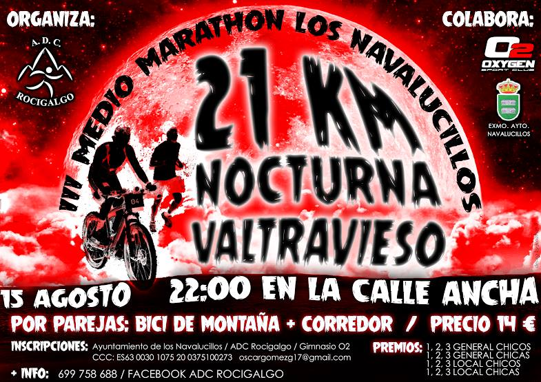 III Medio Maratón Nocturno Valtravieso de Los Navalucillos