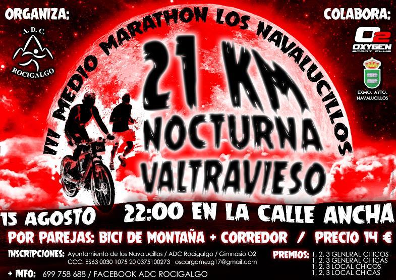 III Medio Maratón Nocturno Valtravieso de Los Navalucillos