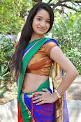 Santoshi sharma half saree pics-thumbnail-15