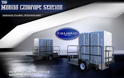 Mobile Comfort Station by CALLAHEAD Corp.