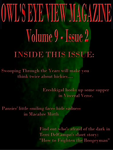 OWL'S EYE VIEW MAGAZINE VOLUME 9 - ISSUE 2
