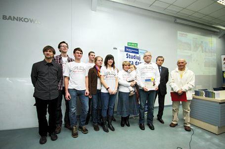 """""""Sztab Sokolikowy""""-12.II.2011r.Poznań-wręczenie Nagród Rowertouru."""