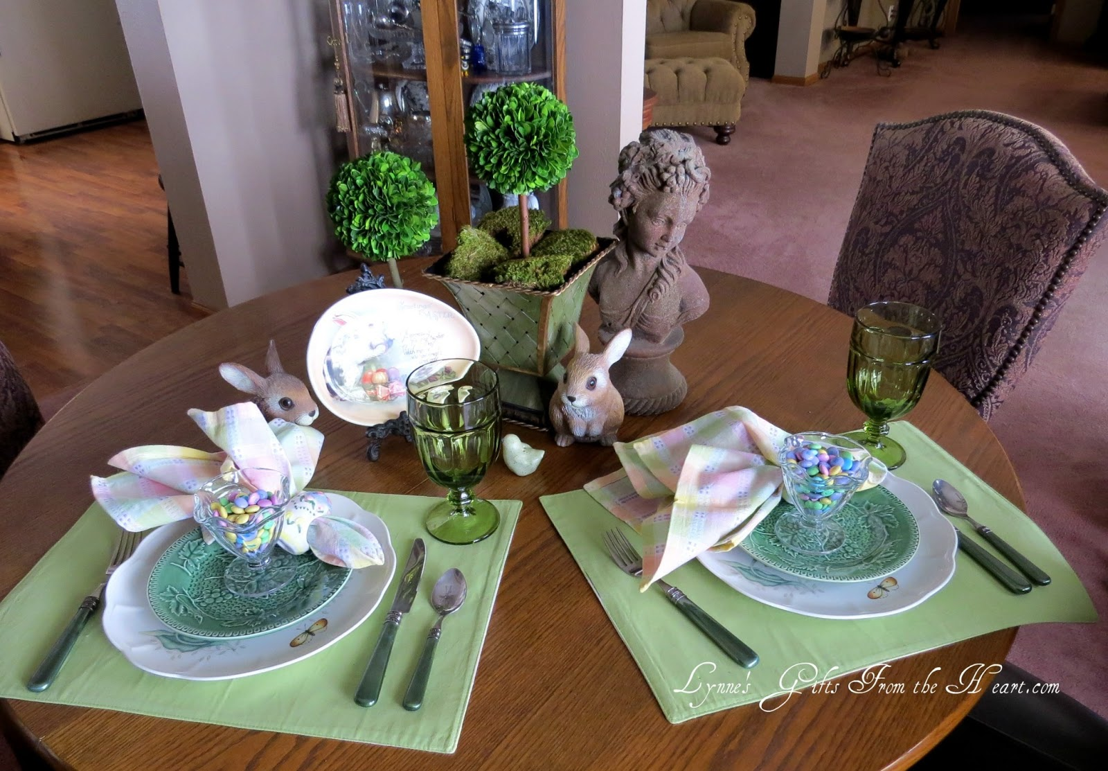 Lynnes Gifts From The Heart Spring Tablescaping With Lenox