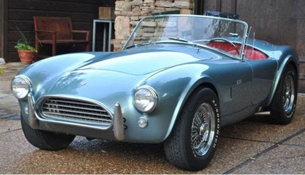 One Owner Car Guy >> Just A Car Guy: One owner 1964 Shelby AC Cobra 289 sells ...