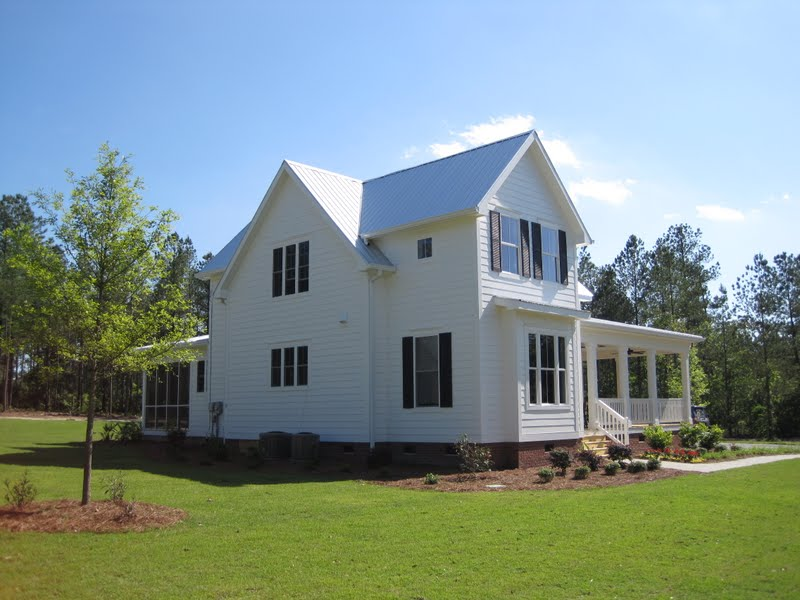 That new house the southernness of shutters for Moser design group house plans