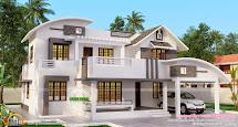 Kerala House Designs Two-Storey Homes