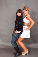 Con mi queridísima modelo Virginia Gil