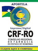Apostila Concurso CRF-RO 2015 (Impressa) Agente Administrativo (Download)