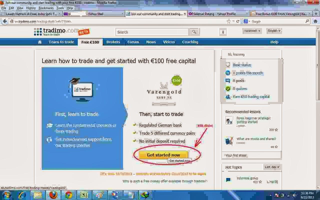 Forex yang memberikan modal gratis 2014