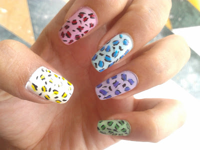colorful nail art designs by pari sangha
