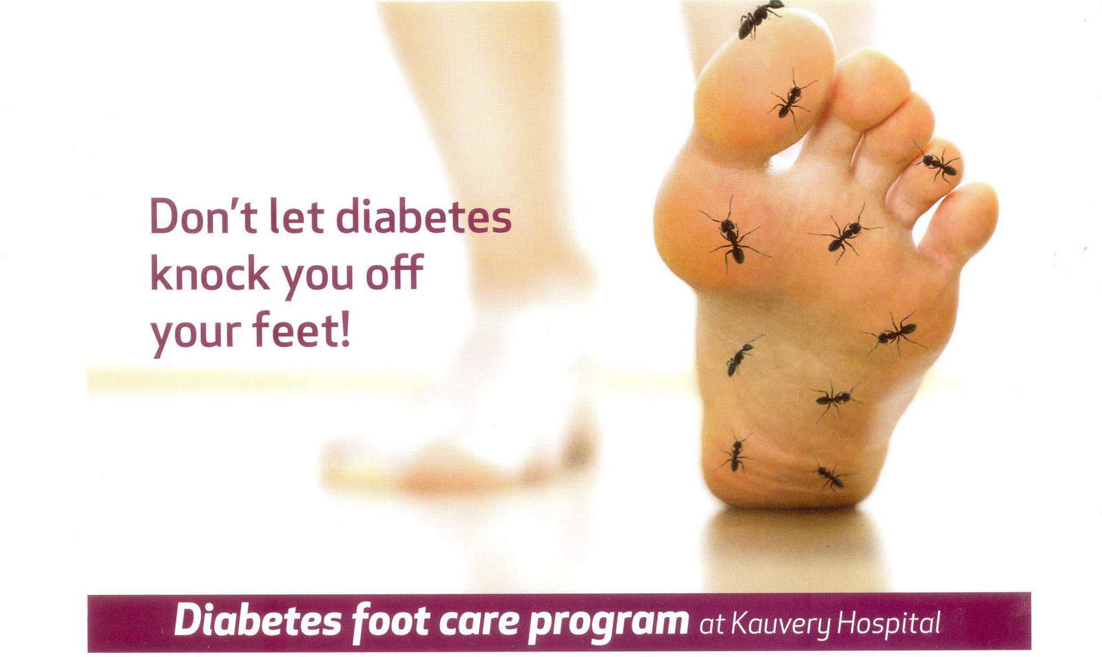 Diabetic foot care hospital hyderabad 2014
