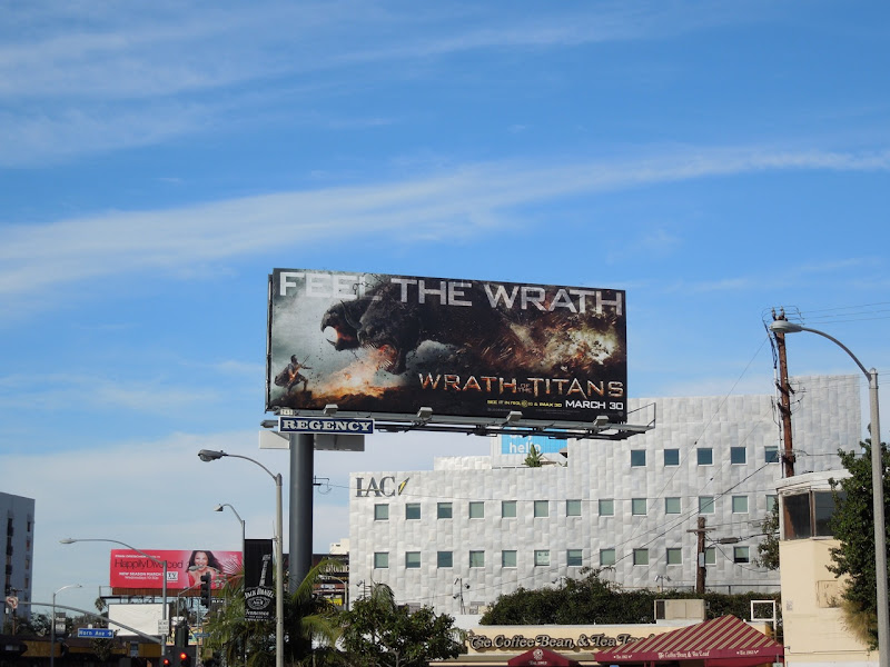 Wrath of the Titans billboard