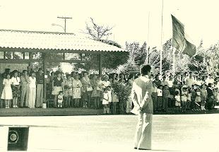 Acto en la Escuela 386 año 1971