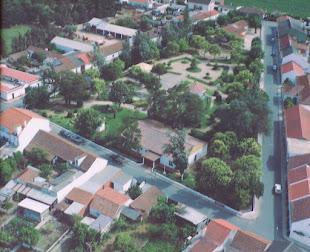 Jardim de Azinhaga do Ribatejo - Portugal