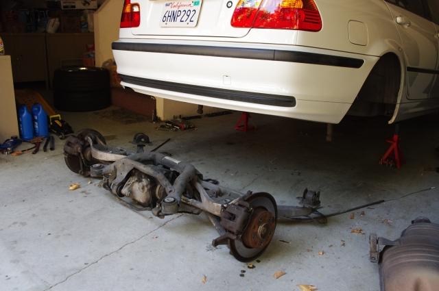 Khang Fixes It Bmw E46 Sub Frame Bushings