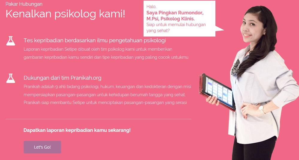 online dating setipe See more information about setipecom, find and apply to jobs that match your skills, and connect with people to advance your career we understand dating in modern indonesia setipecom is an online dating site based in indonesia using web technology to filter, rank and connect you with people that.