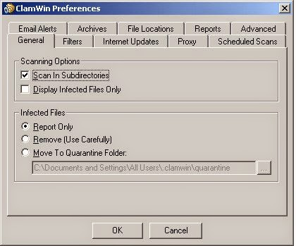 ClamWin Antivirus v.0.98 Portable