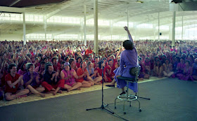 Ma Anand Sheela in WA in 1985. in 2019 | Osho, What the