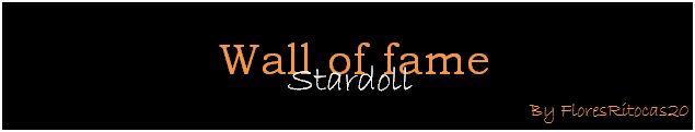 Wall Of Fame Stardoll