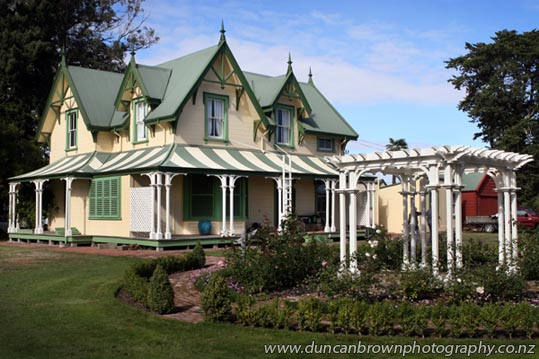 Stoneycroft Homestead, Omahu Rd, Hastings, home of the Hawke's Bay Knowledge Bank photograph