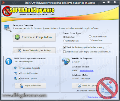 Superantispyware product key